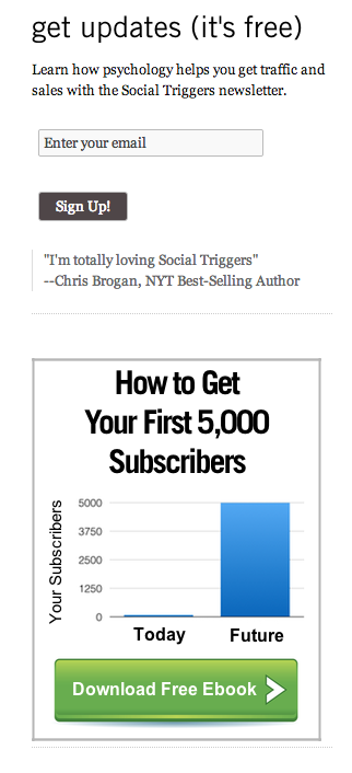 Social Triggers subscriber hooks