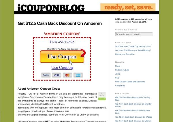 coupon blog after