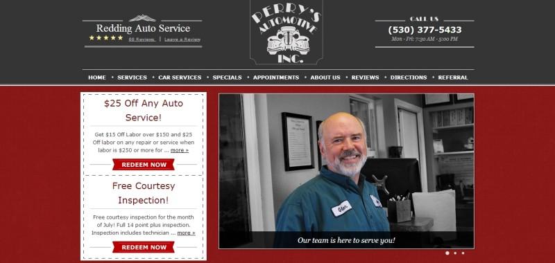 Perrys website
