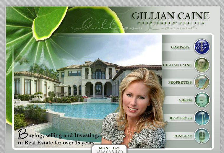 Gillian Caine green realtor