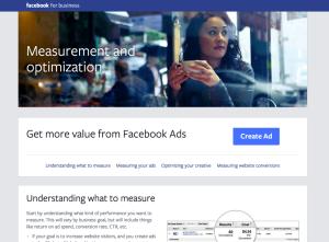 Facebook's CTA button
