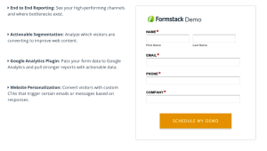 Formstack CTA