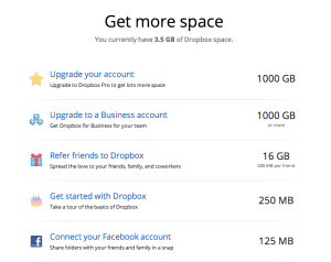 Dropbox gamification increases conversion rates