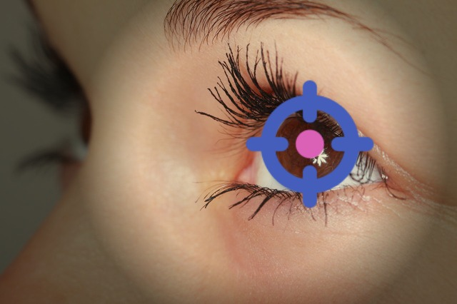 eye beauty tracking