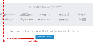 get Smart's CTA button
