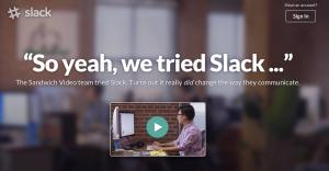 slack's social proof video