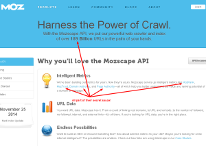 Moz creates uniqueness with secrets