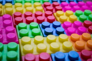 Building blocks for a landing page