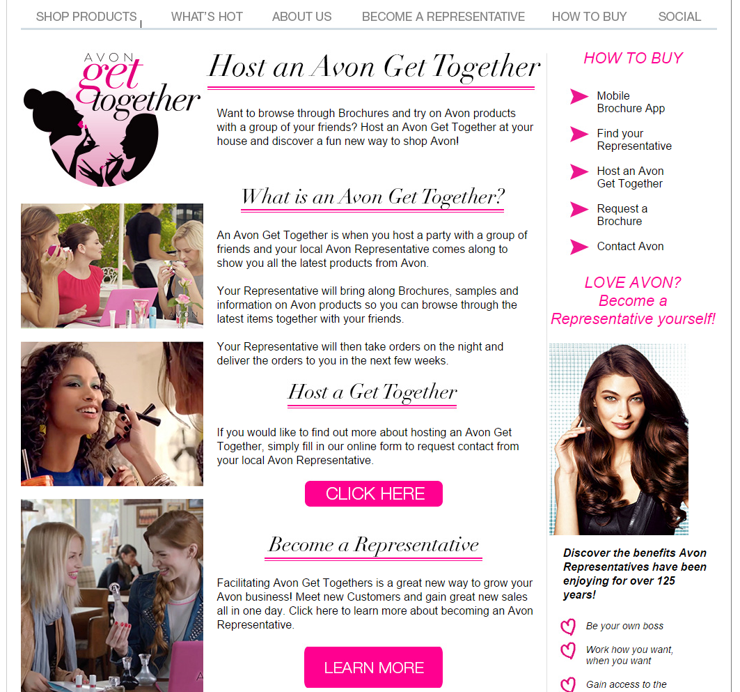avon get together