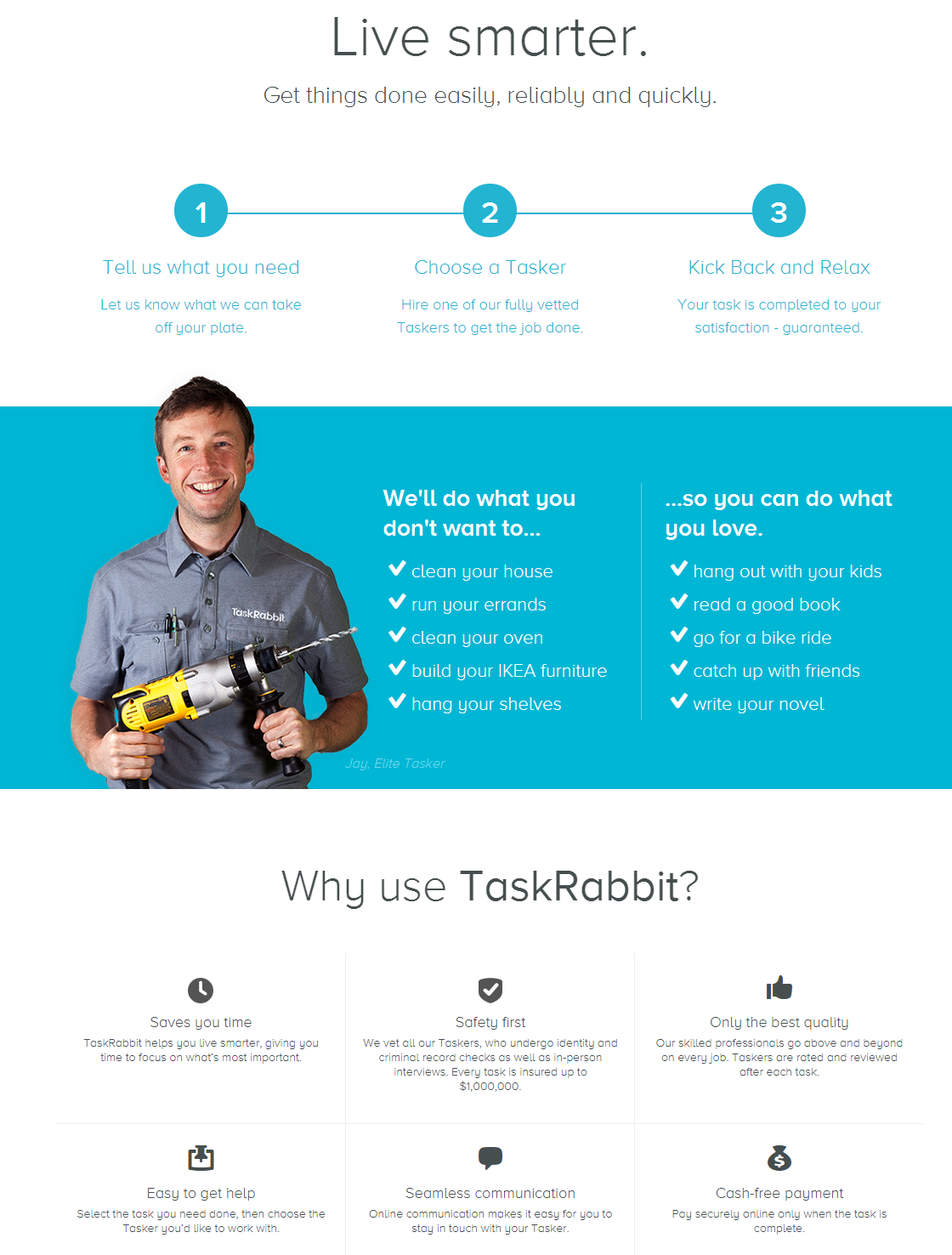 live smarter task rabbit
