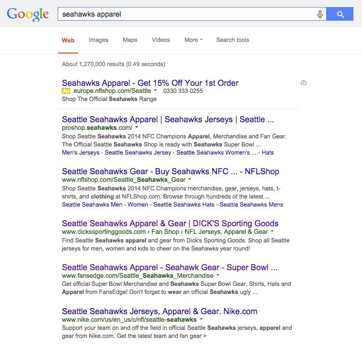 seahawks google