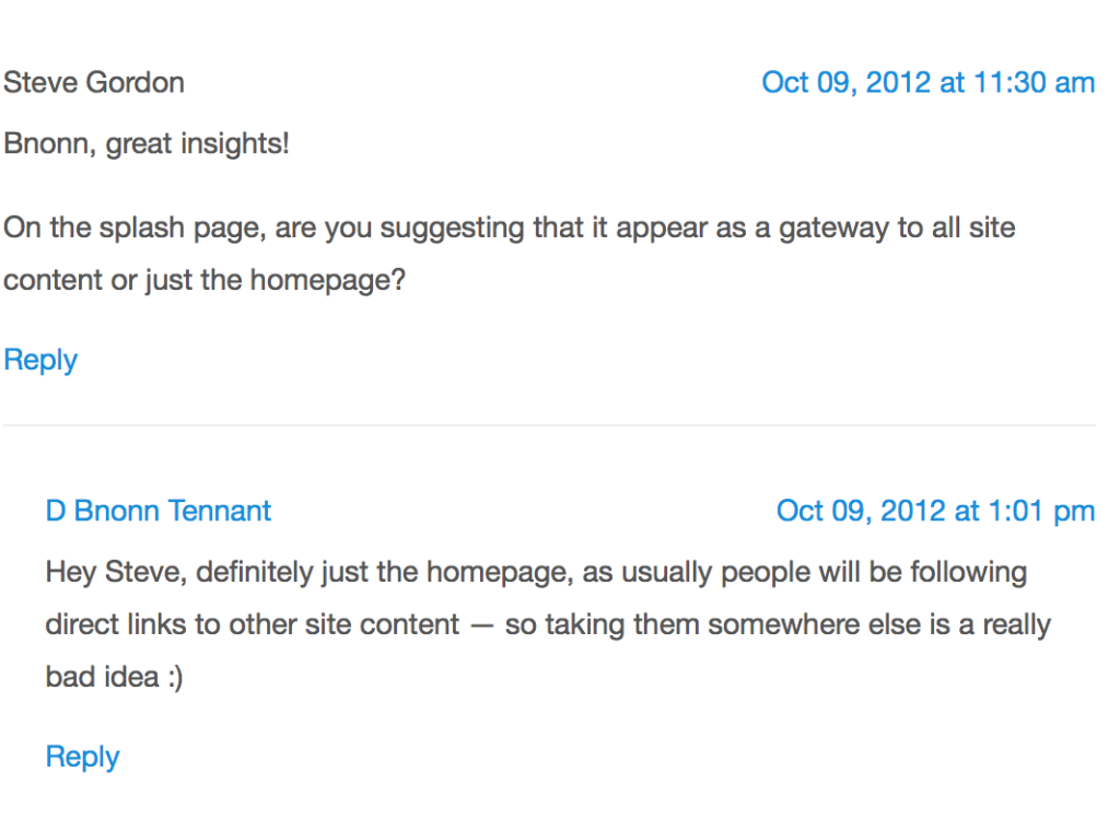 A comment on Squeeze pages from KISSmetrics author