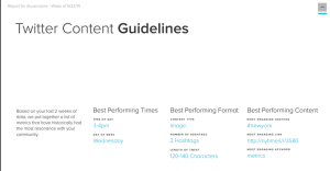 sumall twitter content insights