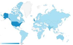 Google analytics location data