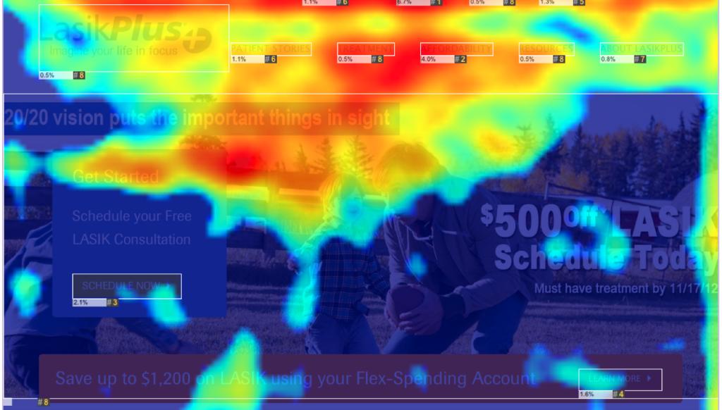 heatmap landing page