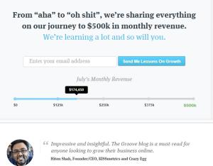 groove revenue journey