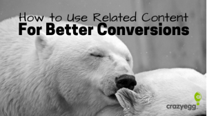 Use related content for better conversions