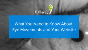 eye movements and your website