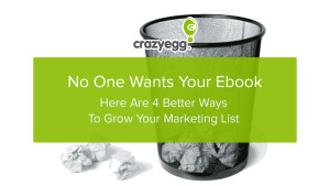 no one wants your ebook