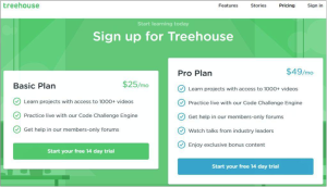 pricing page copy