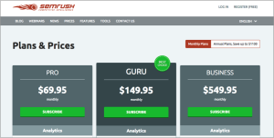 pricing page reassurance