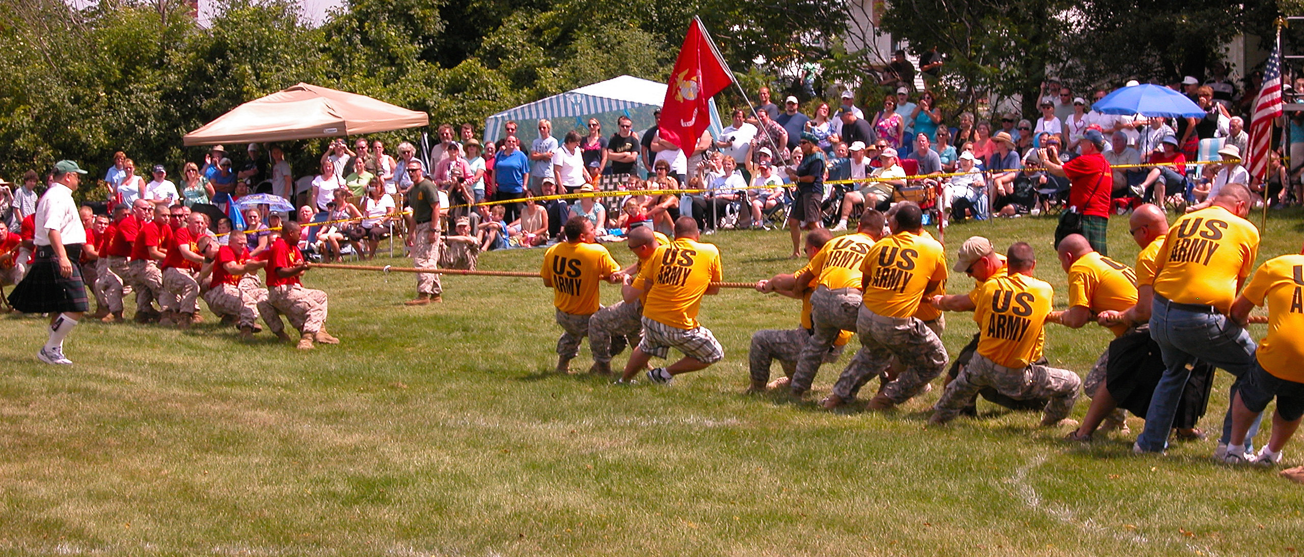 tug of war us army