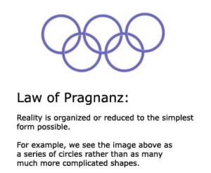 Law of Pragnanz explanation