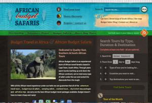 Budget African Safaris