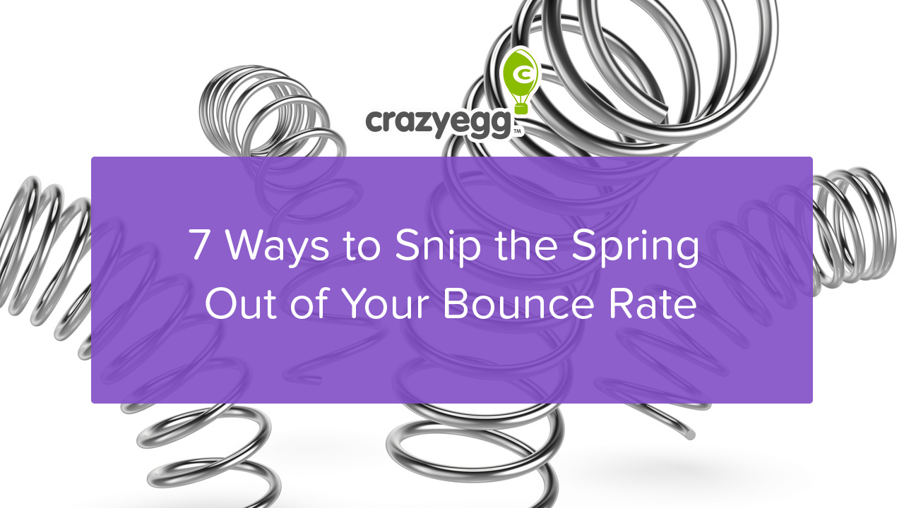 snip the spring out of bounce rate