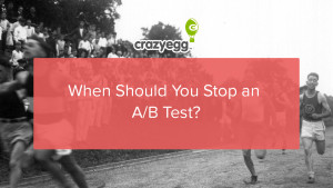 stop ab test