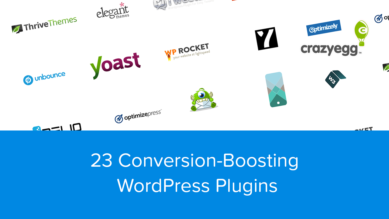 23 Conversion-Boosting WordPress Plugins