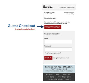 boden gues checkout
