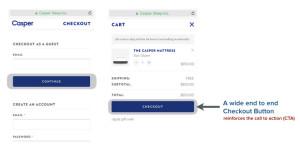 casper end to end button