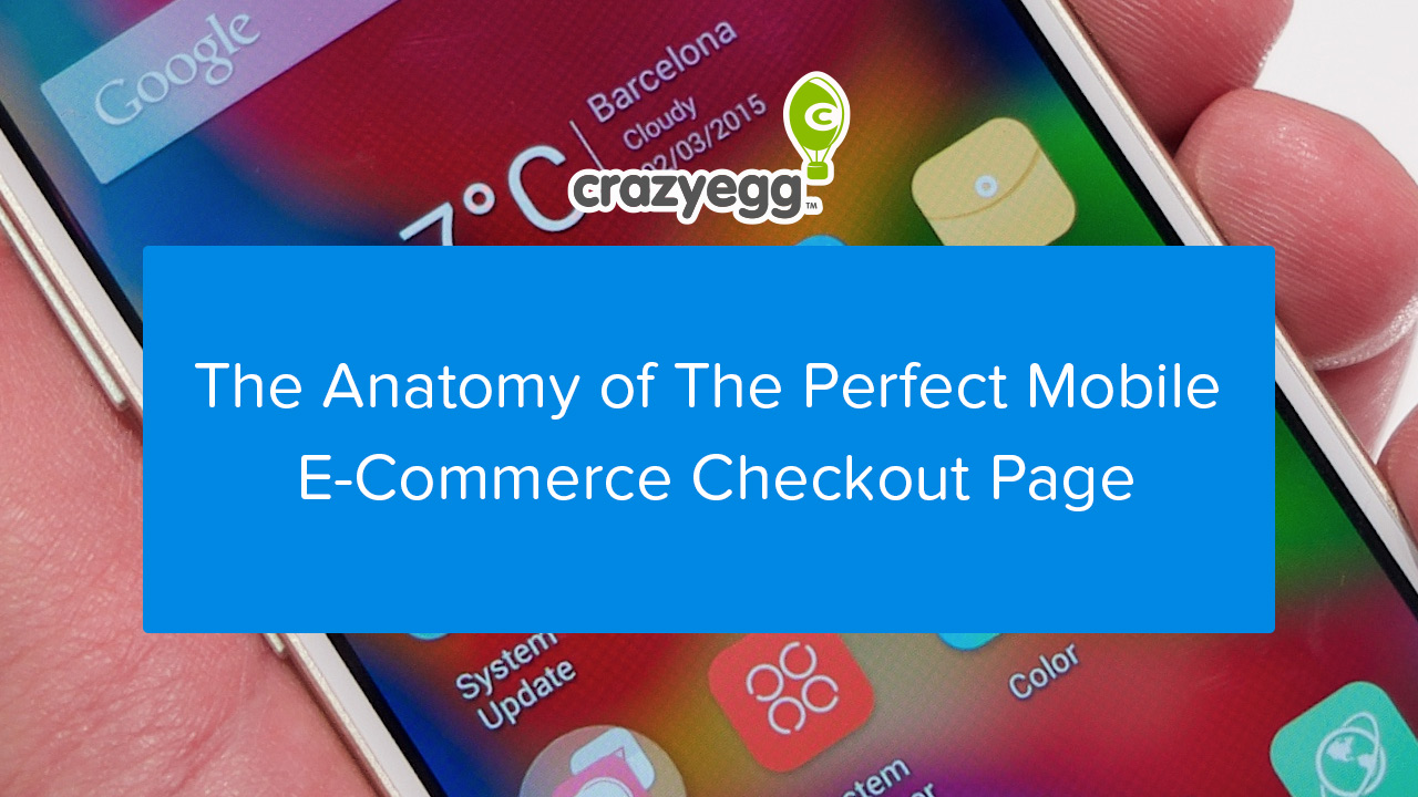 anatomy perfect mobile checkout page