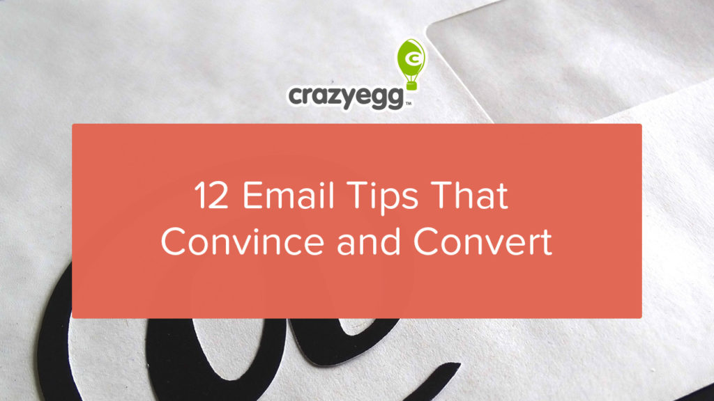 12 email tips that convince