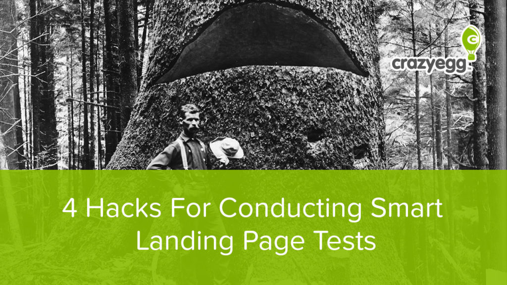 smart hacks for landing page tests