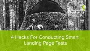 smart hacks for landing page tests
