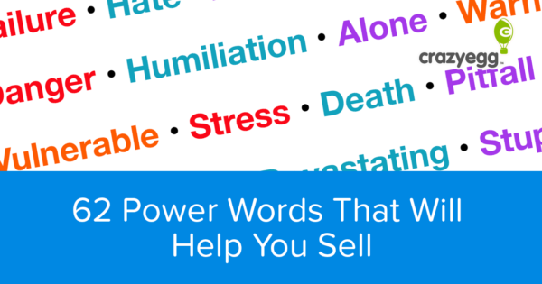 62 words that will help you sell