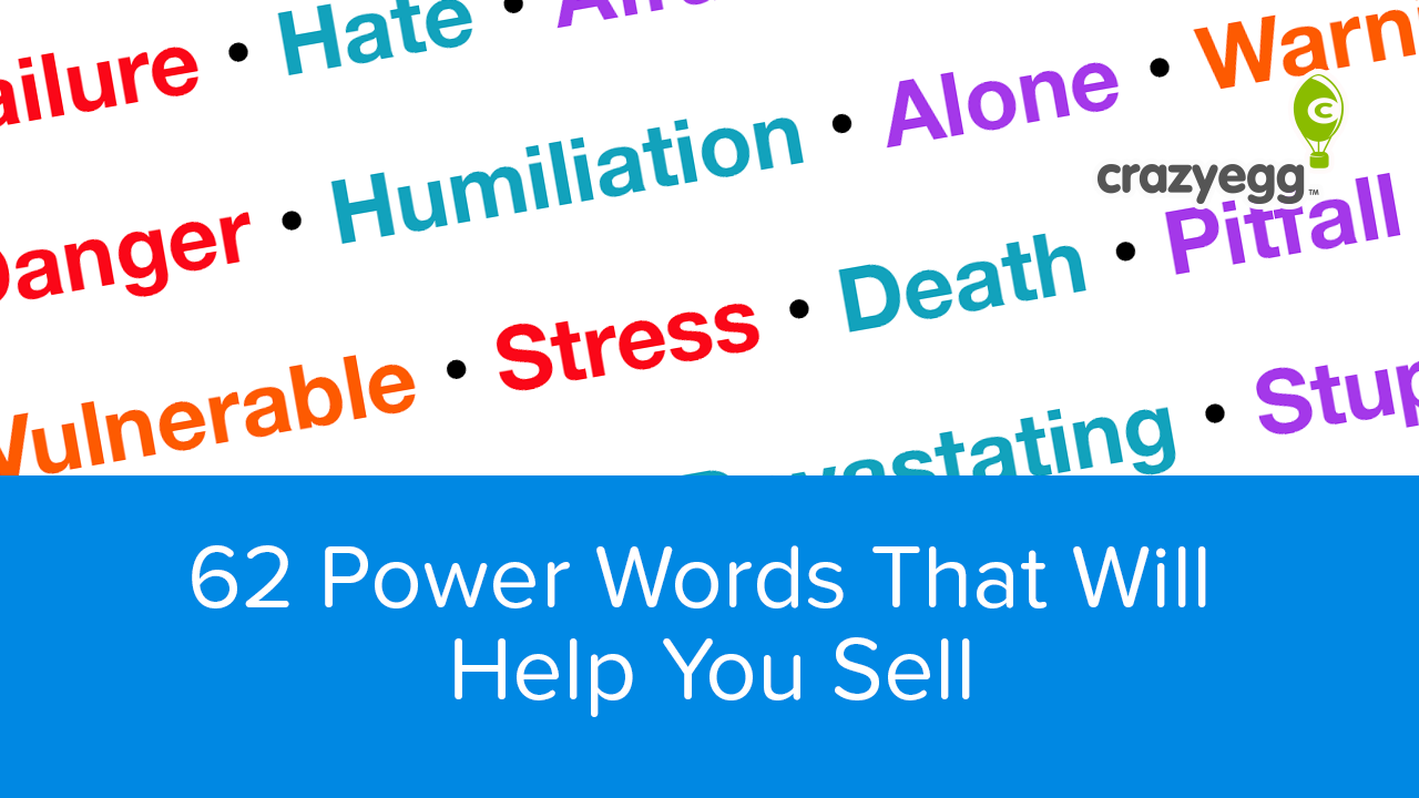 62 Power Words That Will Help You Sell