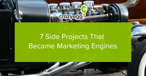 7 side projects that became marketing engines