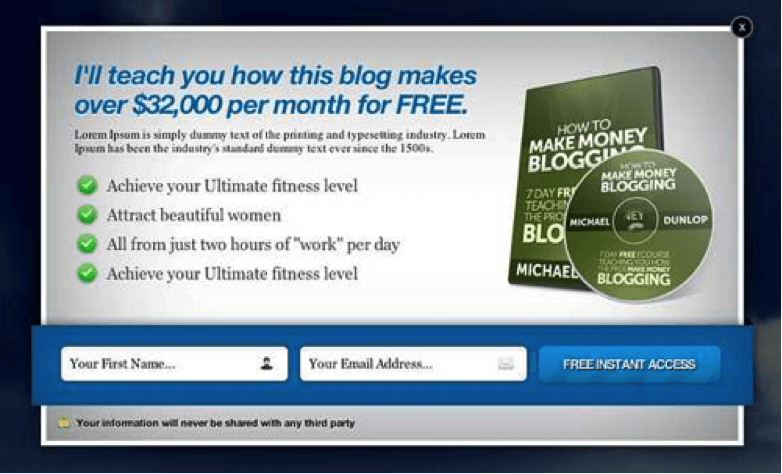this blog makes 32000 per month