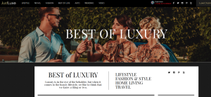 Just Lux Website