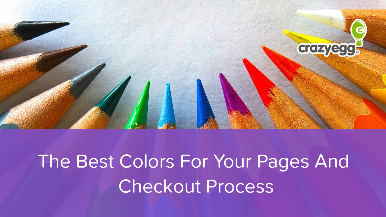 the best colors for your landing pages and checkout process