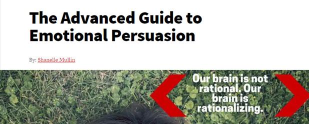 emotional persuasion