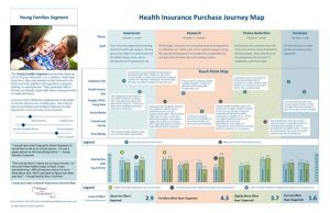 health insurance purchase journey map