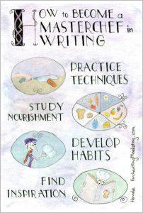 masterchef writing