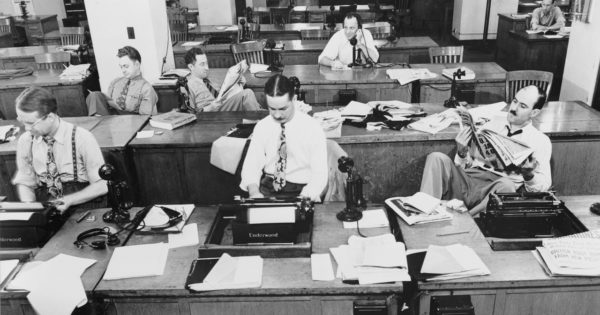 newspaper copywriting social media