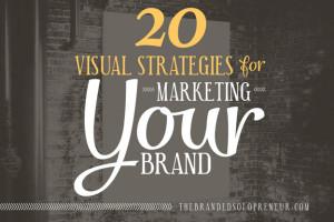 20 visual strategies marketing