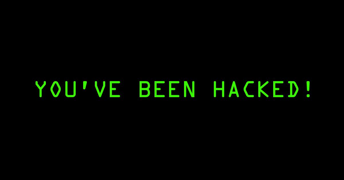 Resultado de imagem para hacked imagem