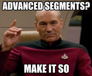 Advanced segments meme